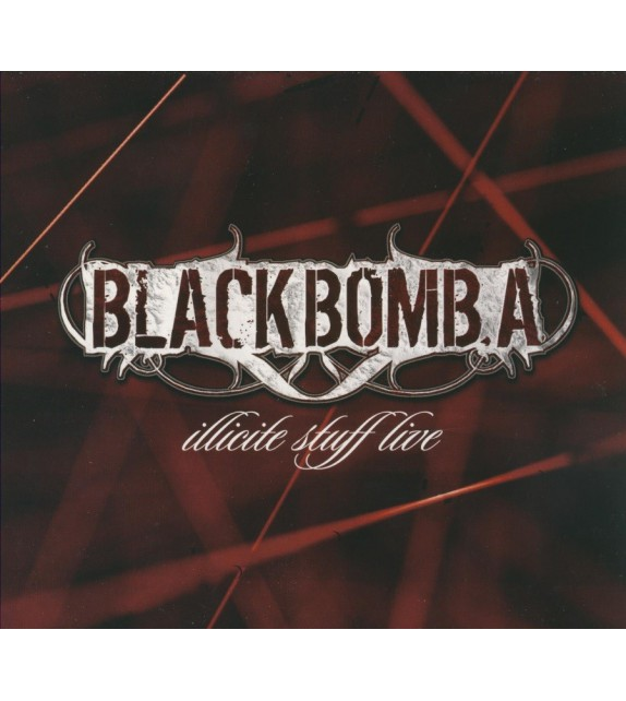CD DVD BLACK BOMB A - ILLICITE STUFF LIVE