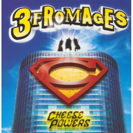 CD LES 3 FROMAGES - CHEESE POWERS