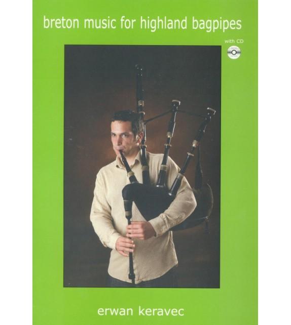 BRETON MUSIC FOR HIGHLAND BAGPIPES + CD