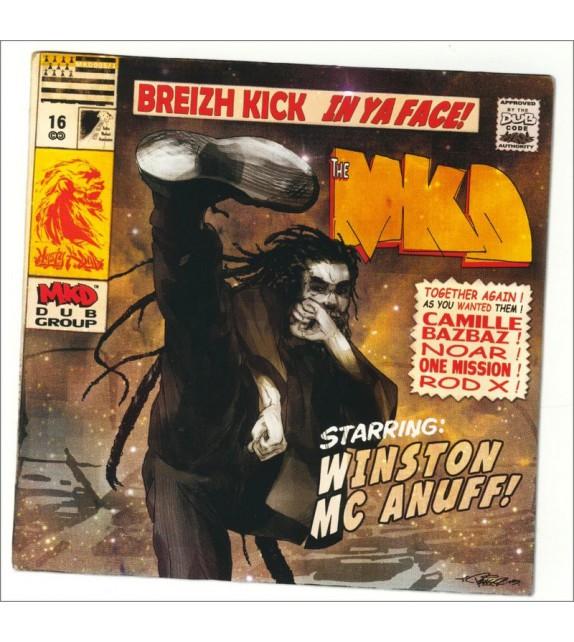 CD MYSTY K DUB - Breizh Kick in Ya Face !