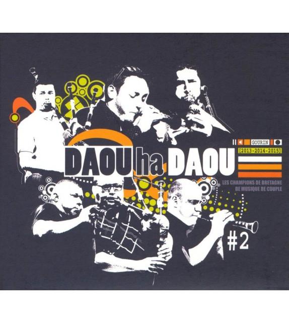 CD DAOU HA DAOU - Champions de Bretagne de musique de Couple (2013-14-15)