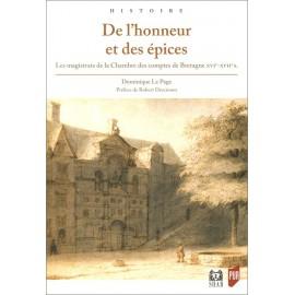 DE L'HONNEUR ET DES EPICES