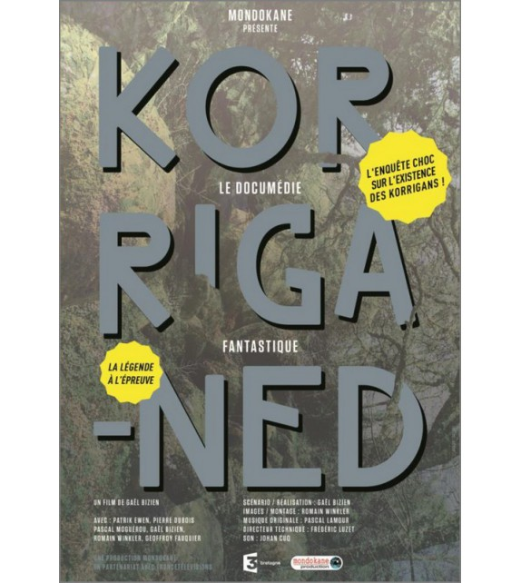 DVD KORRIGANED - Documentaire fiction