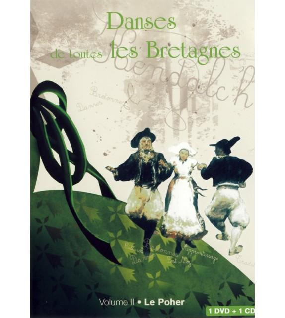 DVD DANSES DE TOUTES LES BRETAGNES 2 LE POHER + CD