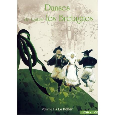 DVD DANSES DE TOUTES LES BRETAGNES 2 LE POHER CD