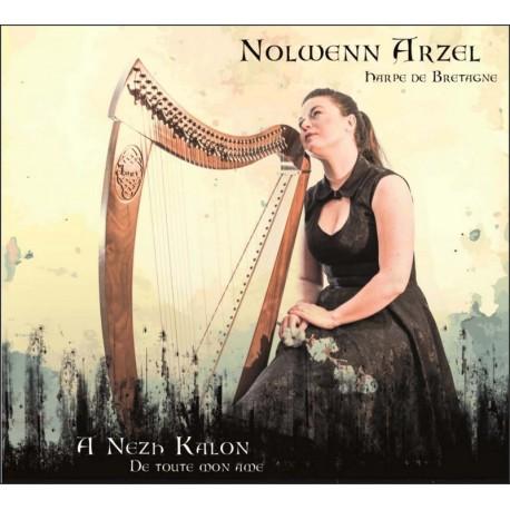 CD NOLWENN ARZEL - A nezh kalon - De toute mon âme