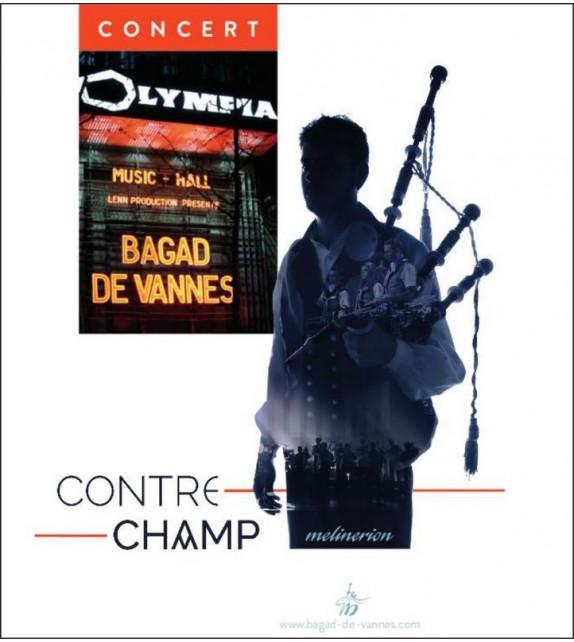 DVD BAGAD DE VANNES - A L'OLYMPIA - CONTRECHAMP