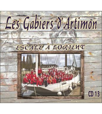CD LES GABIERS D'ARTIMON - ESCALE A LORIENT