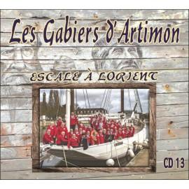 CD LES GABIERS D'ARTIMON - ESCALE A LORIENT - PARUTION JUIN 2017