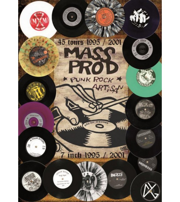 CD MASS PROD 45 TOURS 1995/2001 - COMPILATION