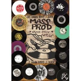CD MASS PROD 45 TOURS 1995/2001 - COMPILATION