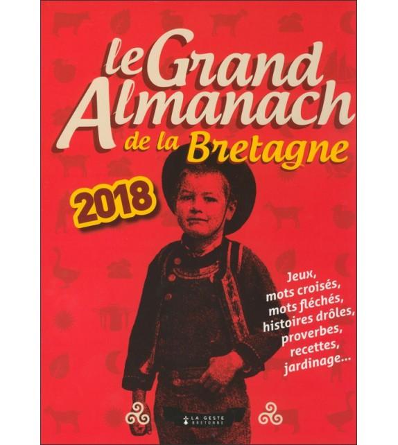 LE GRAND ALMANACH DE LA BRETAGNE 2018