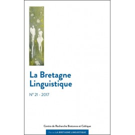 LA BRETAGNE LINGUISTIQUE NO 21 - À PARAÎTRE