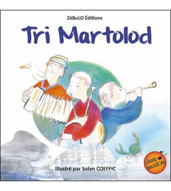 TRI MARTOLOD - Livre musical