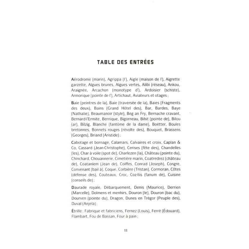 Le dictionnaire de la baie de lannion for Dictionnaire des architectes