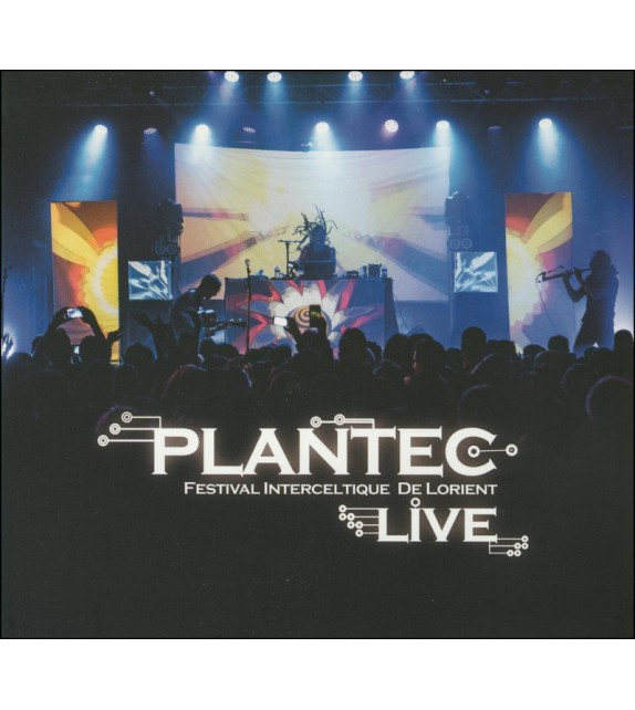 CD-DVD PLANTEC - LIVE AU FESTIVAL INTERCELTIQUE DE LORIENT