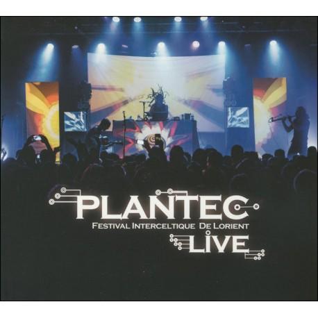 CD-DVD PLANTEC - LIVE AU FESTIVAL INTERCELTIQUE DE LORIENT