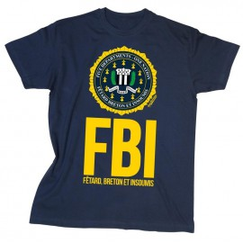 TEE SHIRT FBI - Fêtard Breton et Insoumis
