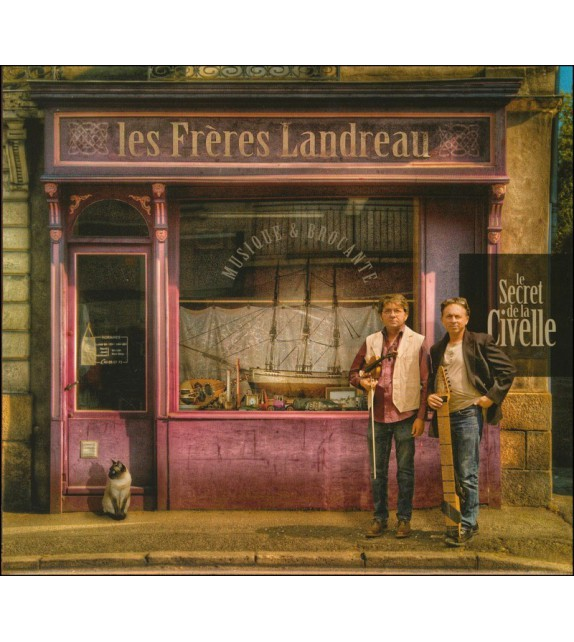 CD LES FRÈRES LANDREAU - Le secret de la civelle