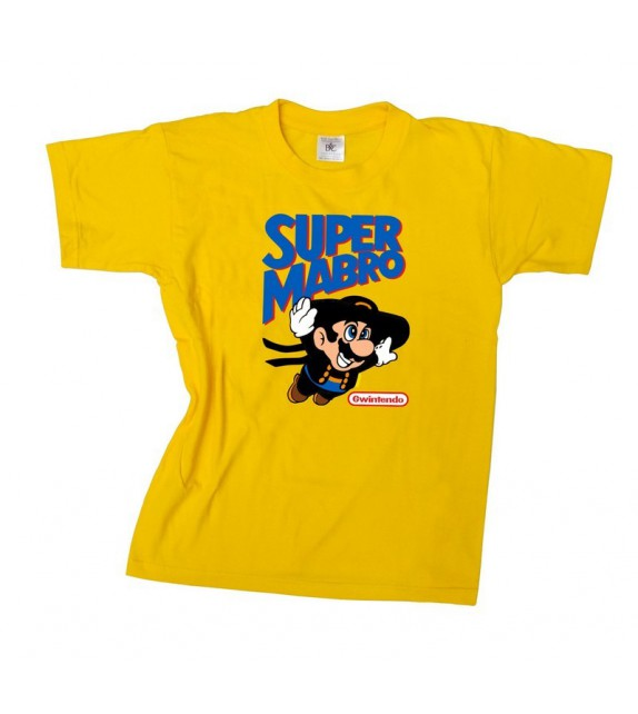 TEE SHIRT SUPER MABRO (taille adulte et enfant)