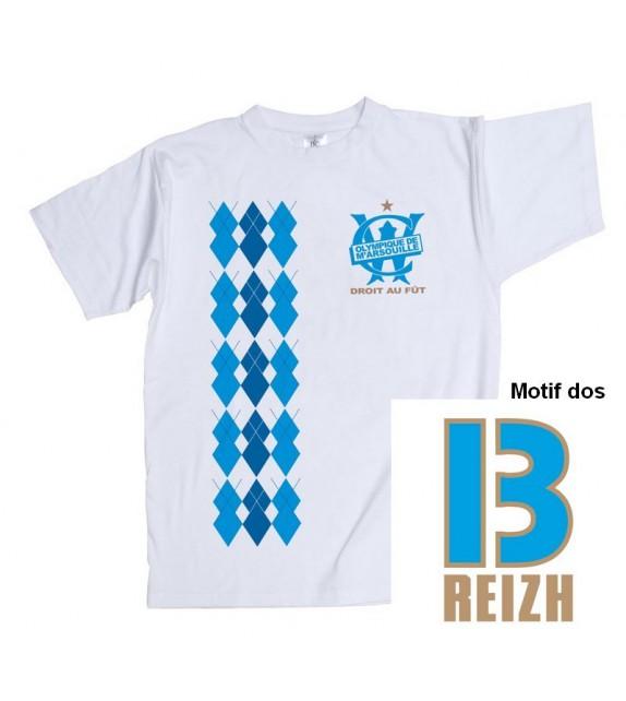 TEE SHIRT OLYMPIQUE DE M'ARSOUILLE - Tee-shirt breton