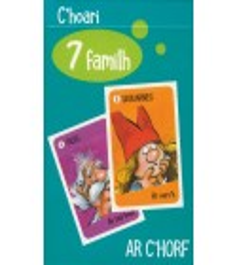 JEU DE 7 FAMILLES Le coprs - C'HOARI 7 FAMILH Ar C'Horf
