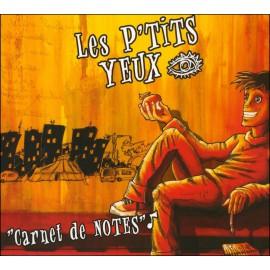CD LES P'TITS YEUX - Carnet de notes