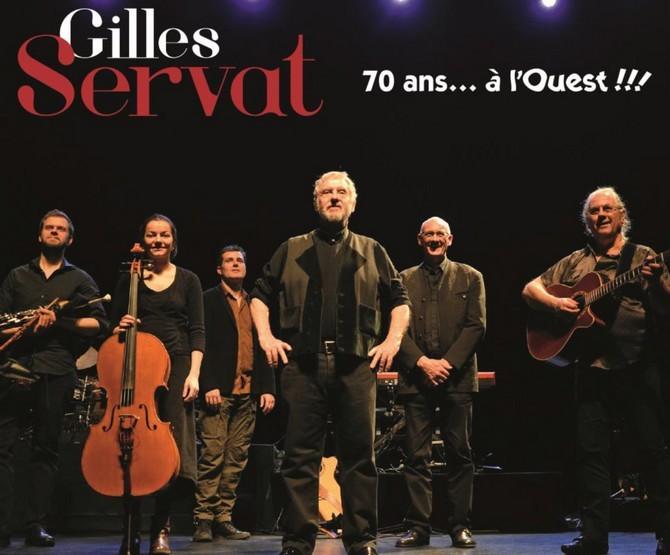 Gilles Servat, 70 ans à l'Ouest, 50 ans de scène