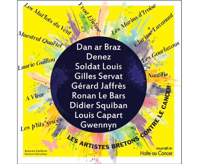 Les Artistes Bretons donnent pour la lutte contre le cancer