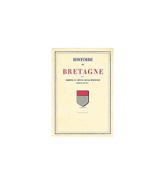 HISTOIRE DE BRETAGNE DE LA BORDERIE