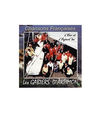 CD LES GABIERS D'ARTIMON - CHANSONS FRANCAISES