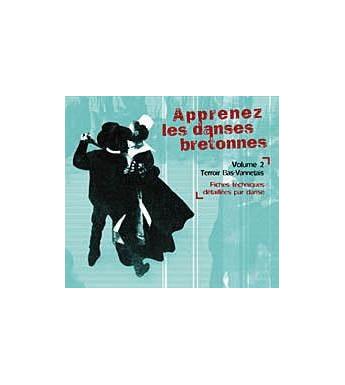 CD APPRENEZ LES DANSES BRETONNES. VOL 2 Bas Vannetais