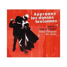 CD APPRENEZ LES DANSES BRETONNES. VOL 6 Le Penthièvre