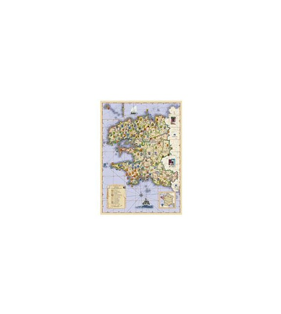 CARTE DES BLASONS DU FINISTERE
