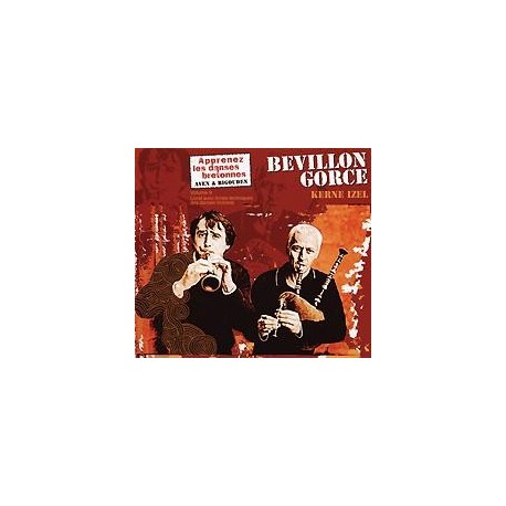 CD BEVILLON-GORCE APPRENEZ LES DANSES BRETONNES VOL. 9 Kerne Izel Aven Bigouden