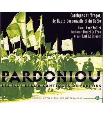 CD ANNE AUFFRET - PARDONIOU VOL 3