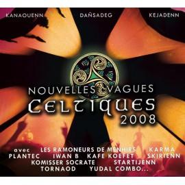 CD DVD NOUVELLES VAGUES CELTIQUES 2008