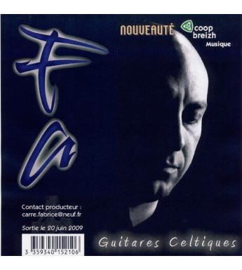 CD FABRICE CARRE - Guitares Celtiques