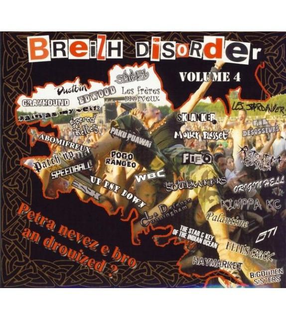 CD BREIZH DISORDER VOLUME 4 - PETRA NEVEZ E BRO AN DROUIZED ?