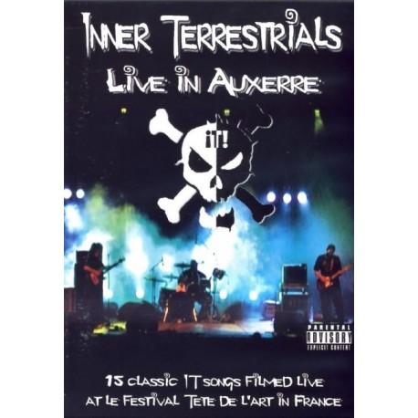 DVD INNER TERRESTRIALS LIVE IN AUXERRE
