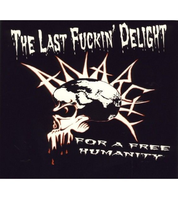 CD THE LAST FUCKIN' DELIGHT - FOR A FREE HUMANITY