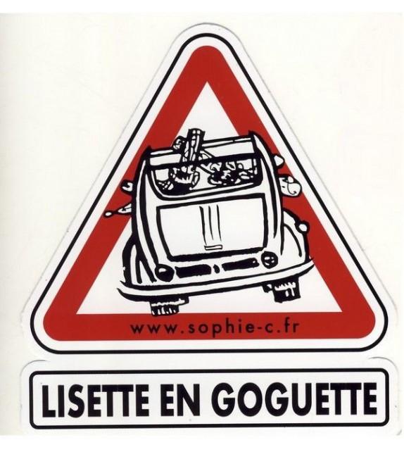 AUTOCOLLANT LISETTE EN GOGUETTE (6010397)