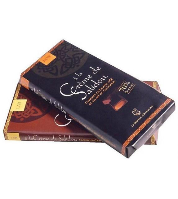 TABLETTE DE CHOCOLAT AU CARAMEL SALIDOU (6010840)