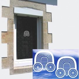 PAON GRAPHIQUE - STICKERS DE VITRE (6020378)