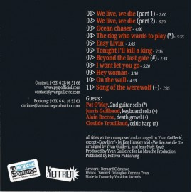 CD PYG - WE LIVE, WE DIE