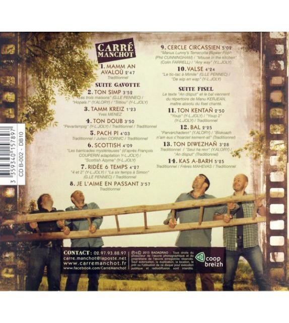 CD CARRÉ MANCHOT - MAMM AN AVALOU