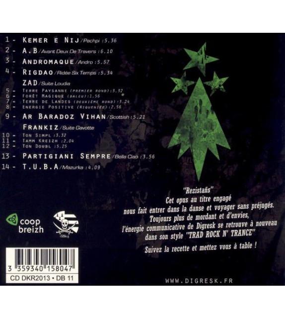 CD DIGRESK - REZISTAÑS