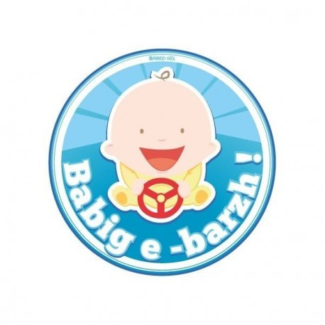 AUTOCOLLANT BABIG E-BARZH ! (6020523)