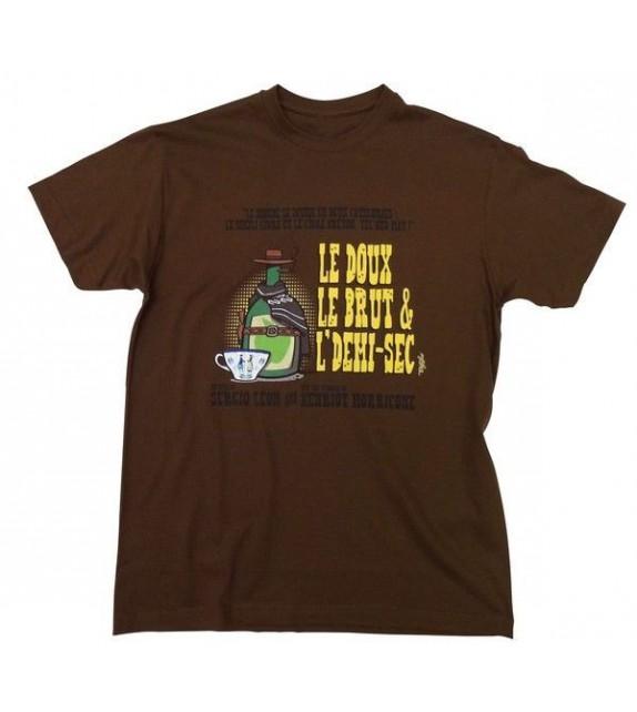 TEE-SHIRT LE DOUX LE BRUT ET L'DEMI-SEC (6020661)