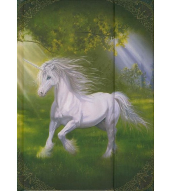 CARNET DE NOTES - UNE LICORNE